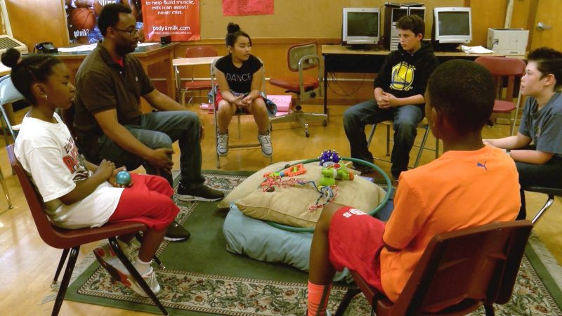Middle School Restorative Justice Circle, Edna Brewer Middle School