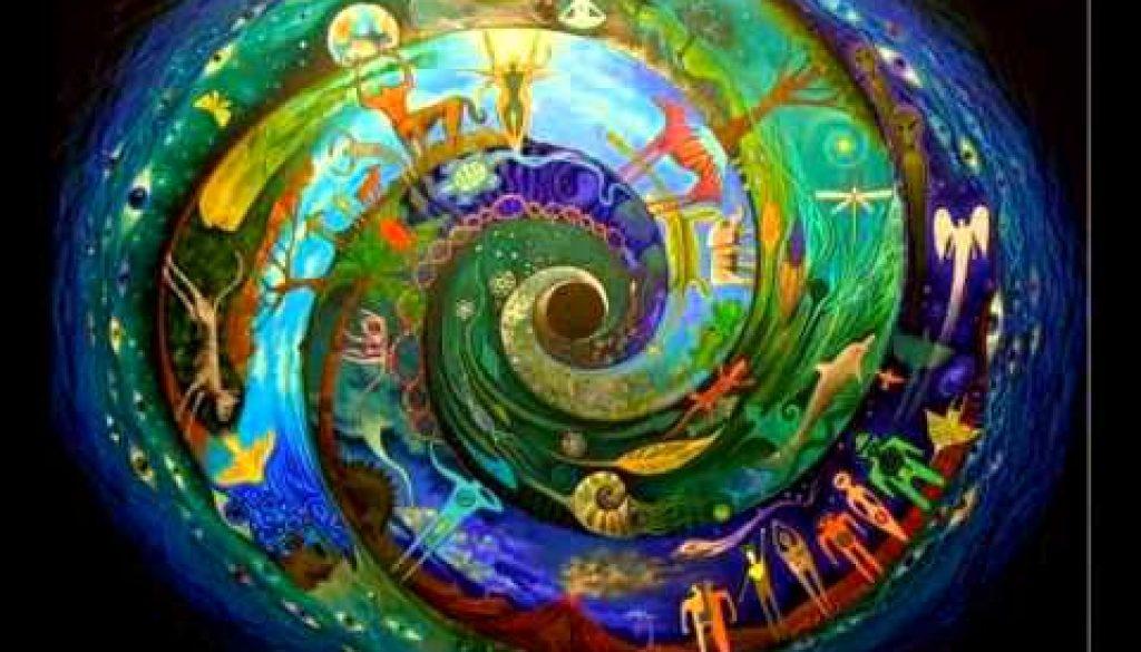 earth inhabiitants spiral